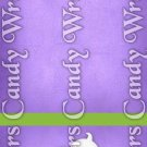 Happy Halloween Purple #3 ~ MINI Matchbook Nail File COVER