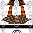 Smell My Feet Halloween ~ MINI Matchbook Nail File COVER