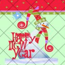 Merry & Bright New Year  ~ Gallon Can Set