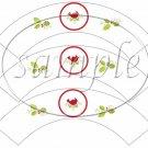 Cardinal  ~  Cupcake Wrappers ~ Set of 1 Dozen