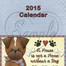 Dogs ~ CD Case 2015 Calendar