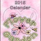 Garden Gals ~ CD Case 2015 Calendar