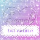 Holidays of the Year ~ CD Case 2015 Calendar