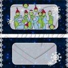 Peas (Peace) On Earth Dark Blue ~ Standard 1.55 oz Candy Bar Wrapper  SOE