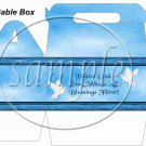 Praise God, From All Who's Blessings Flow Dove ~ Gable Gift or Snack Box