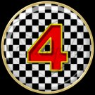 Faux NASCAR Numbers & Letters ~ Cupcake Picks & Toppers