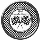 Faux NASCAR Cross Flags ~ Cupcake Picks & Toppers