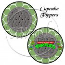 Faux Ninja Turtles ~ Cupcake Picks & Toppers