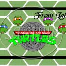 Faux Ninja Turtles #1  ~ Gallon Can Set