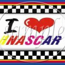 Faux I Love ♥ (Heart) NASCAR  ~ Gallon Can Set