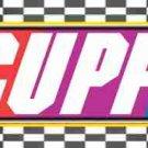 Faux NASCAR  Personalized ~ Water Bottle Wrapper ~ Set of 12