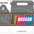 Faux NASCAR ~ Gable Gift or Snack Box