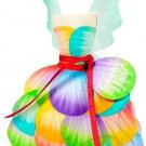 Multi Colors Fairy Dress ~ Party Favor Totes, Bags & Boxes