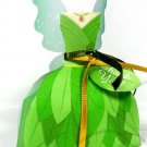 Green Fairy Dress ~ Party Favor Totes, Bags & Boxes