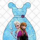 Faux Frozen  Elsa & Anna Party Favor Dress  ~ Party Favor Totes, Bags & Boxes