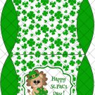 Lucky Lion St. Patrick's  Day .....  ~ Pillow Box