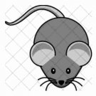 Grey Mouse ~  Cupcake Pick & Toppers ~ Set of 1 Dozen