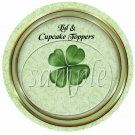 Shamrock St. Patrick's Day ~  Cupcake Pick & Toppers ~ Set of 1 Dozen