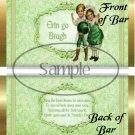 Erin go Bragh Happy St. Patrick's Day  ~ Standard 1.55 oz Candy Bar Wrapper  SOE
