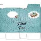 Touch of Blue  ~ Pinch Box