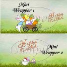 Easter Cart  ~ MINI Candy Bar Wrappers