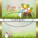 Easter Cart Gold Foil ~ Standard 1.55 oz Candy Bar Wrapper  SOE