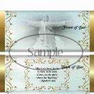 He is Risen ~ Matthew 28:6  Blue ~ Standard 1.55 oz Candy Bar Wrapper  SOE