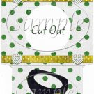 Polka Dot Top Hat ~ St. Patrick's Day Cookie Pouch