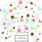 Spring Color Polka Dots ~  Cupcake Wrappers ~ Set of 1 Dozen