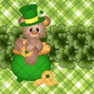 St. Patrick's Day Plaid   ~ MINI Candy Bar Wrappers