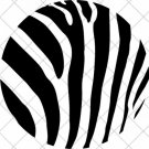 Zebra Print ~  Cupcake Pick & Toppers ~ Set of 1 Dozen