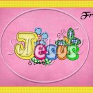 Jesus Is Love Pink ~ Gallon Can Set