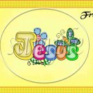 Jesus Is Love Yellow ~ Gallon Can Set