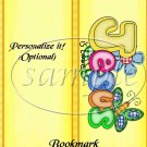 Jesus Is Love Yellow ~ Bookmark 1 Dozen