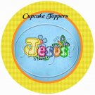 Jesus Is Love Assorted Colors ~  Cupcake Pick & Toppers ~ Set of 1 Dozen