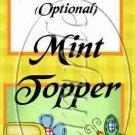 Jesus Is Love Green ~ Mini Mint Toppers & Mints   (50 ct)