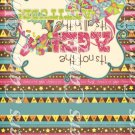 Happy Birthday #4 ~ Birthday ~ MINI Matchbook Nail File COVER ONLY