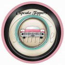 Route 66 ~  Cupcake Pick & Toppers ~ Set of 1 Dozen