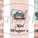 Born To Ride  ~ MINI Candy Bar Wrappers