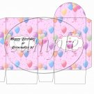 Party Balloons Pink ~ Pinch Box