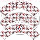 Gambling Poker Chips ~  Cupcake Wrappers ~ Set of 1 Dozen