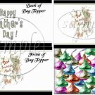 Dad You Rock! Gray Grey ~ Father's Day ~ Treat Bag Topper