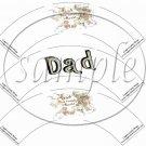 Dad You Rock! Gray Grey ~  Cupcake Wrappers ~ Set of 1 Dozen