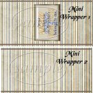Best Dad Belongs to Me ~ Father's Day ~ MINI Candy Bar Wrappers