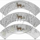 Snow Deer ~ Cupcake Wrappers ~ Set of 1 Dozen