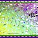 Mardi Gras Graduation Theme ~ MINI Candy Bar Wrappers