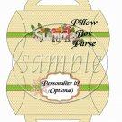 Summer Pink Polka Dot ~ Pillow Box