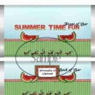 Summer Time Fun Watermelon  ~ Standard 1.55 oz Candy Bar Wrapper  SOE