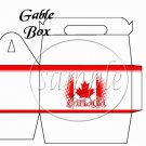 God Bless Canada #2 ~ Gable Gift or Snack Box