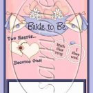 Bride To Be   ~ MINI Candy Bar Wrappers